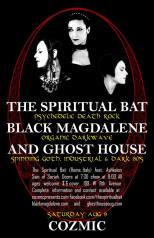 August 2014 The Spiritual Bat/Black Magdalene/GH at Cosmic